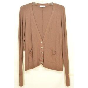 Michael Stars Sweaters - Michael Stars sweater OSFM brown cardigan dropped